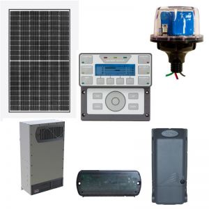 Estate size 23,000W home Outback solar power system